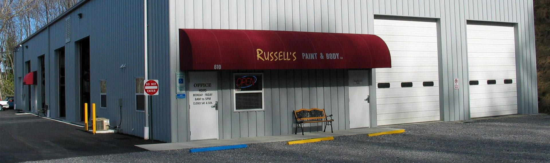 Russell's Paint & Body, LLC Slider Banner 2